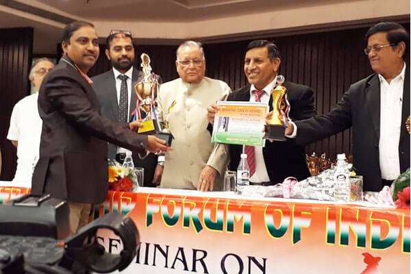Dr. Md. Ali Hussain, Professor, Department of Electronics and Computer Engineering, K L Deemed to be University Was Felicitated by Friendship Forum of India (FFI), New Delhi