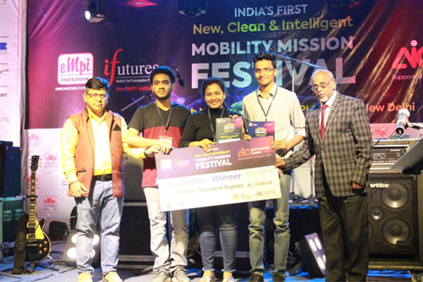 All India 1st Prize in Quizility