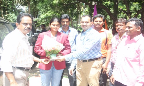 Appreciation to Ms. V.Jyothi Surekha Arjuna Awardee