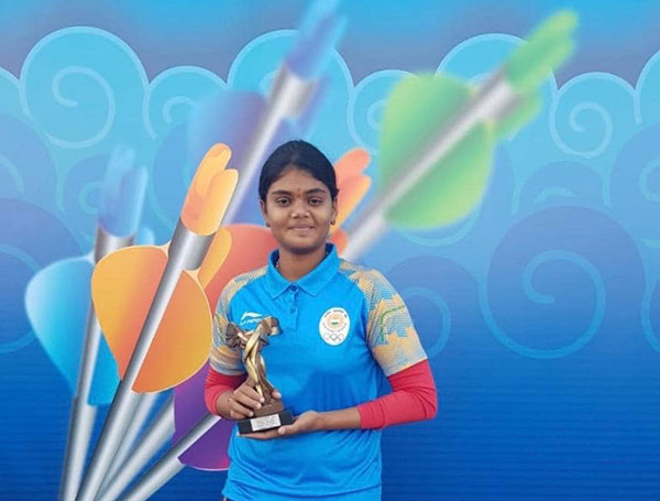Vennam Jyothi Surekha Arjuna Awardee Won Silver Medal for  Archery (Mixed Team event )  in World Cup (Super Series)