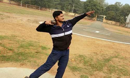 Mr. D. Manikanta (Regd. No: 190040308-B.Tech-ECE) Secured SILVER MEDAL in Shot Put Event in A.P Junior Inter District Championship Organised by KDAA, held at Guntur from 19-01-2021 to 21-01-2021.