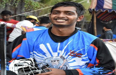 Hearty Congratulations to Mr. Keyur Bavanji,  Selected for World Inline Hockey Championship held at Italy